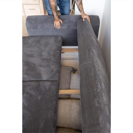 Canapea extensibila cu spatiu depozitare GILEN BIG SOFA [15]