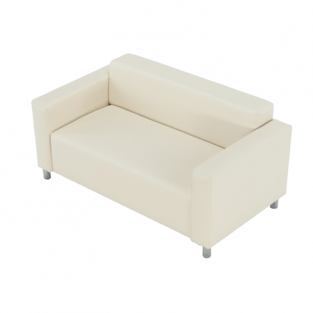 Canapea 2 locuri imitatie piele HOMKER [6]