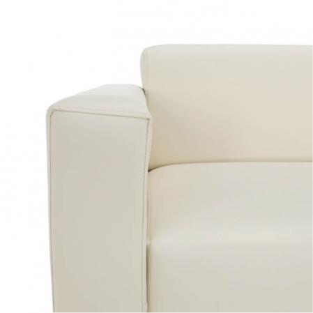 Canapea 2 locuri imitatie piele HOMKER [8]