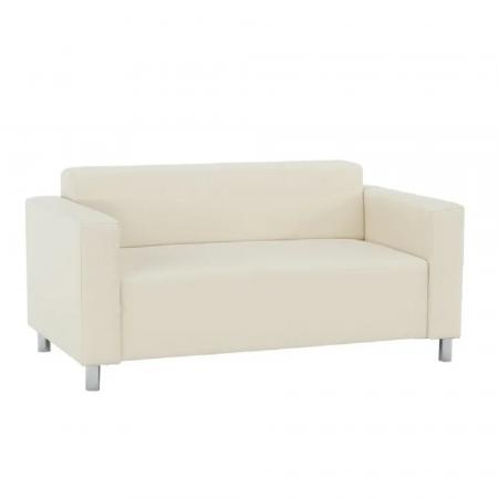 Canapea 2 locuri imitatie piele HOMKER [0]