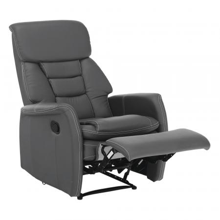 Fotoliu relaxare recliner imitatie piele KOMFY [19]