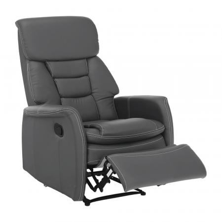 Fotoliu relaxare recliner imitatie piele KOMFY [20]