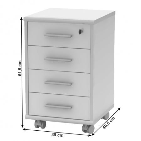 Dulap rollbox pentru birou JOHAN 2 NEW 12 [1]
