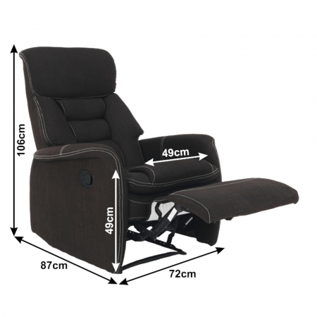 Fotoliu relaxare recliner KOMFY1