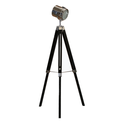 Lampă de podea lemn metal CINDA TYP 26 YF819-B [0]