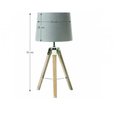 Lampa de masa cu trei picioare JADE TYP 21