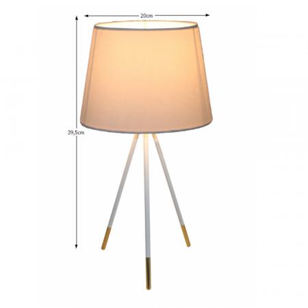 Lampa de masa cu trei picioare JADE TYP 51