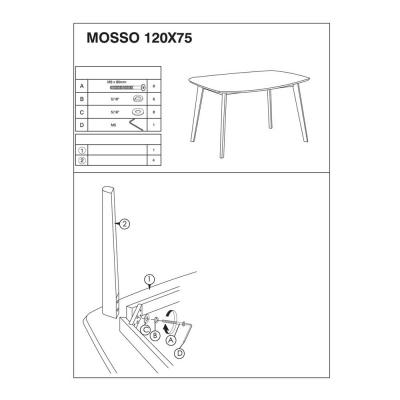 Masa living SL Mosso I2