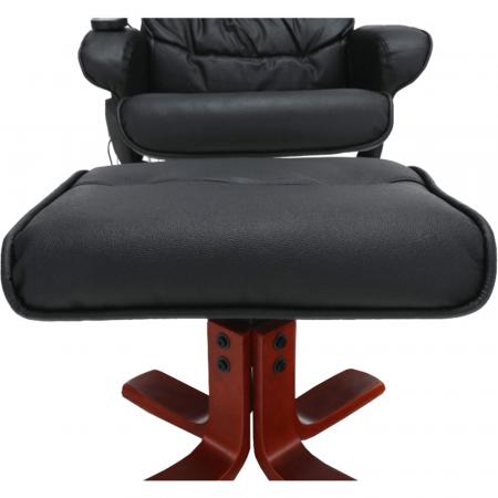 Fotoliu masaj cu taburet AUREL 210