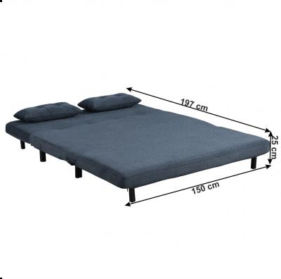 Canapea extensibila tapitat BODENA [3]