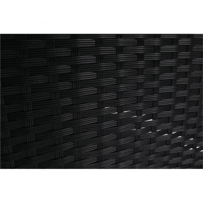 Set de gradina 7 piese tehno-rattan negru gri MODESTO20