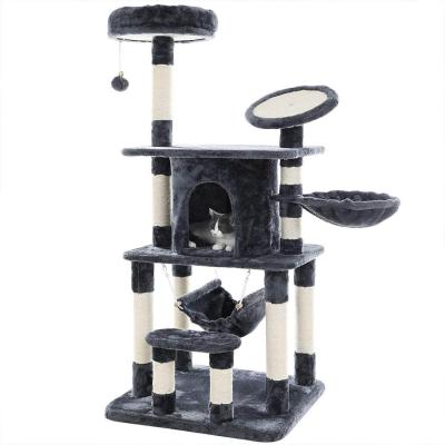 Ansamblu de joaca pentru pisici cu multiple nivele PCT25G0