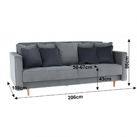 Canapea extensibila cu spatiu depozitare NIDO [1]