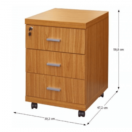 Dulap rollbox pentru birou OSCAR C07 [1]