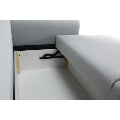 Canapea extensibila tapiterie gri deschis ARIANA7