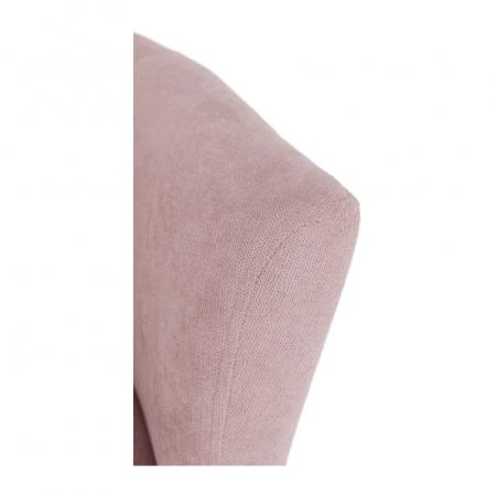 Fotoliu tapitat stil club cu taburet ROSE11