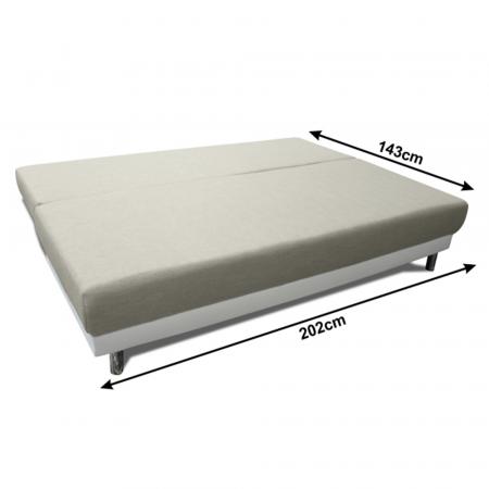Canapea extensibila cu spatiu depozitare FERDI [2]
