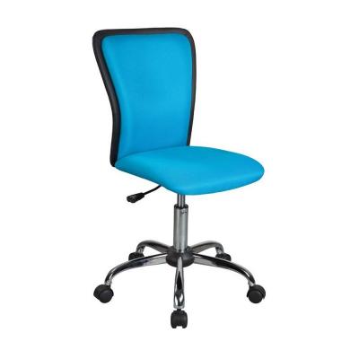 Scaun birou copii mesh SL Q099 albastru1