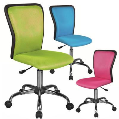 Scaun birou copii mesh SL Q099 albastru2