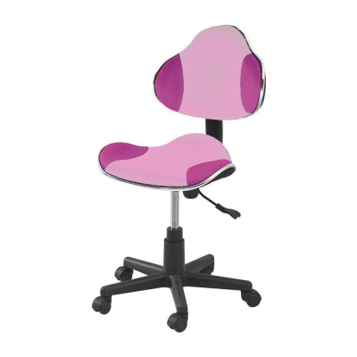 Scaun birou copii SL QG2 roz1