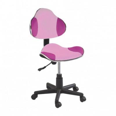 Scaun birou copii SL QG2 roz0