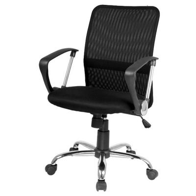 Scaun birou mesh SL Q078 negru0
