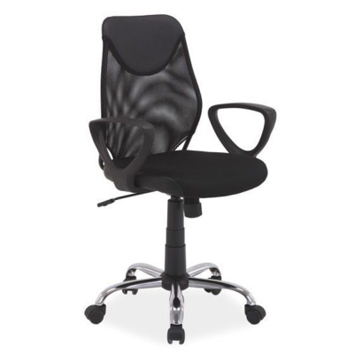 Scaun birou mesh SL Q146 negru2