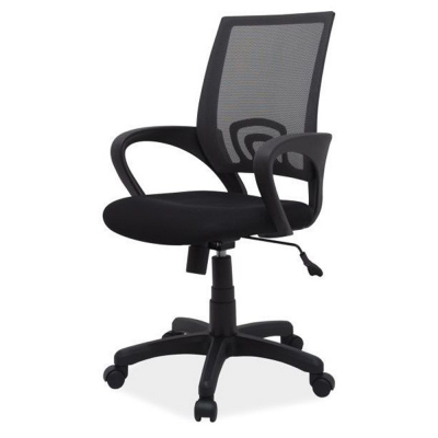 Scaun birou mesh SL Q148 negru0