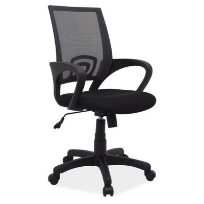 Scaun birou mesh SL Q148 negru1