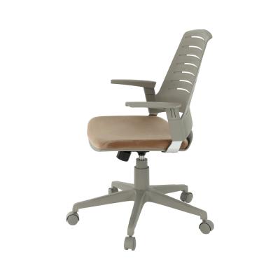 Scaun de birou rotativ tapitat DARIUS [1]