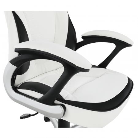 Scaun de birou rotativ tapitat AFRA [2]