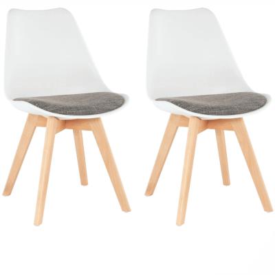 Set 2 scaune dining tapitateDAMARA0