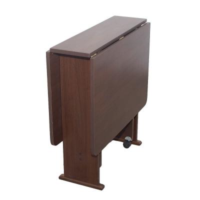 Set masa pliabila PRACTIC cu 6 scaune Wenge2