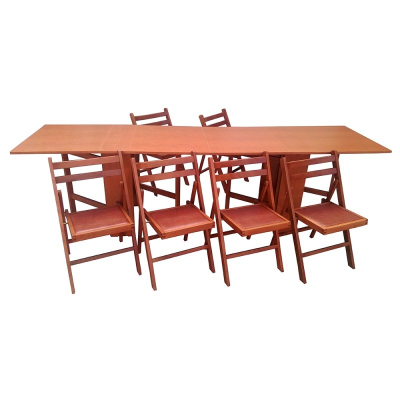 Set masa plianta de 12 persoane cires0