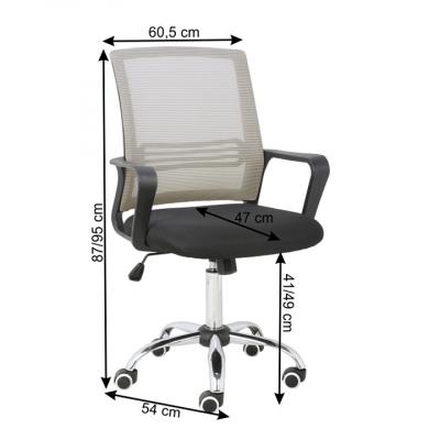 Set scaune de birou tapitate APOLO [3]