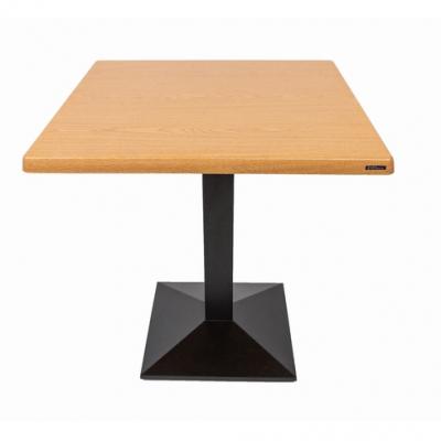 Set terasa outdoor masa CARDIFF OAK 70x70 cu scaune UNI 5501
