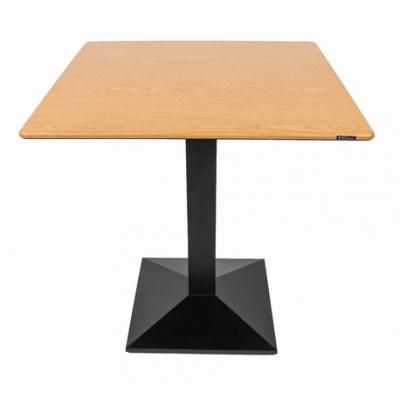 Set terasa outdoor masa CARDIFF OAK SMARTLINE 70x70 cu scaune UNI 550 [1]