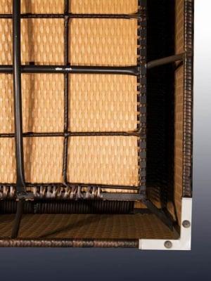 Set terasa/outdoor tehno-rattan AGIATO Dark Brown5