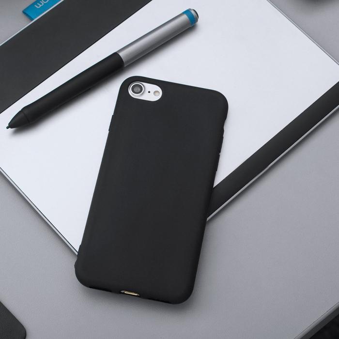 Husa  Samsung Galaxy A20E  Silicon Matte TPU Extra Slim – negru [3]