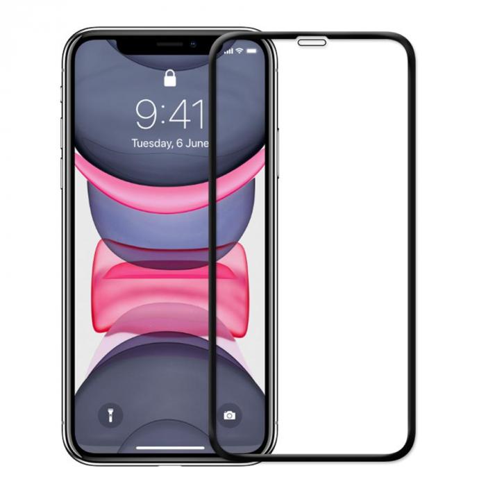 Folie Sticla Securizata Full Glue iPhone 11 Pro - margini negre [0]