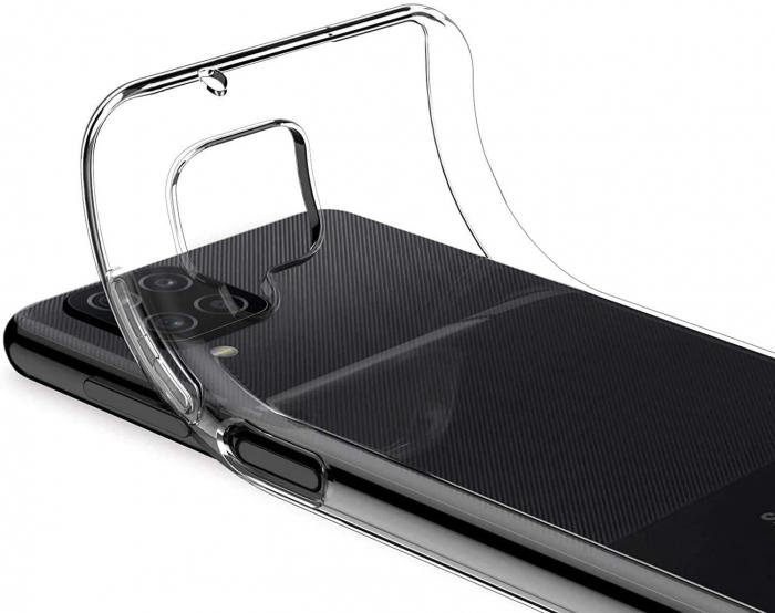 Husa Samsung Galaxy A12 - A42  Silicon Matte TPU Extra Slim – transparent [2]