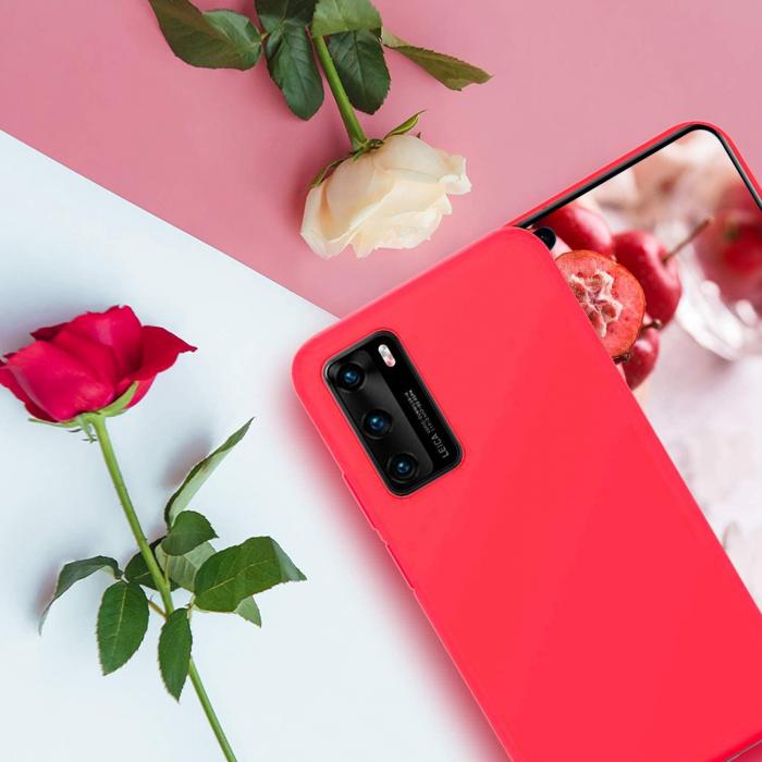 Husa Samsung Galaxy A51 Silicon FlexiSoft – rosu [1]