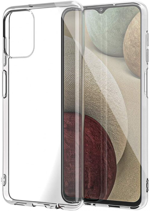 Husa Samsung Galaxy A12 - A42  Silicon Matte TPU Extra Slim – transparent [0]