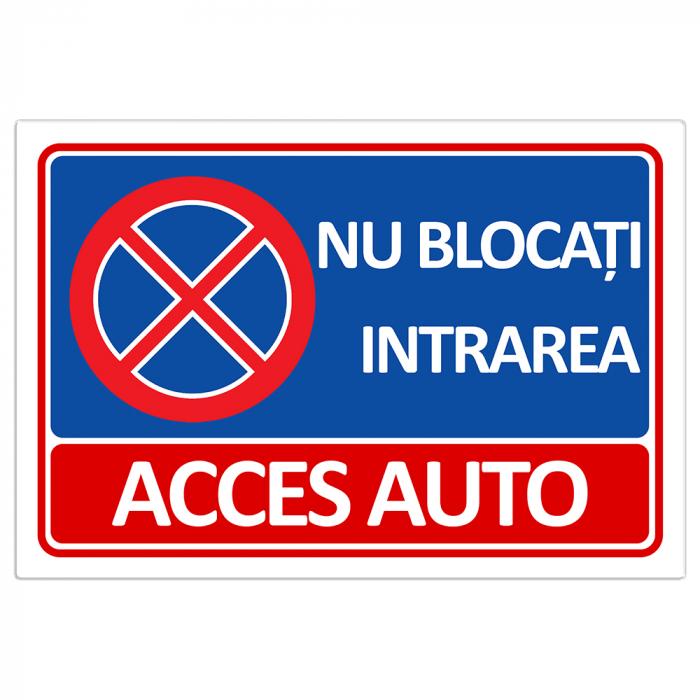 Placuta Acces auto [0]