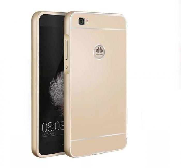 Bumper Huawei Ascend P8 Lite - gold 0