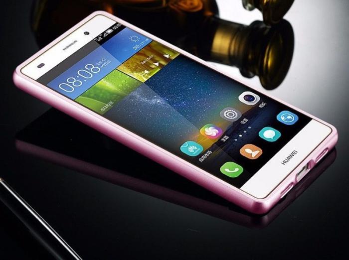 Bumper Huawei Ascend P8 Lite - roz 2