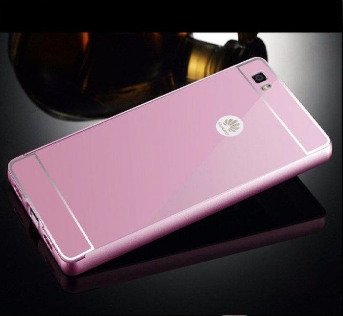 Bumper Huawei Ascend P8 Lite - roz 1