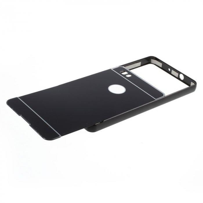 Bumper Metalic pentru Huawei Ascend P8 -  negru 1