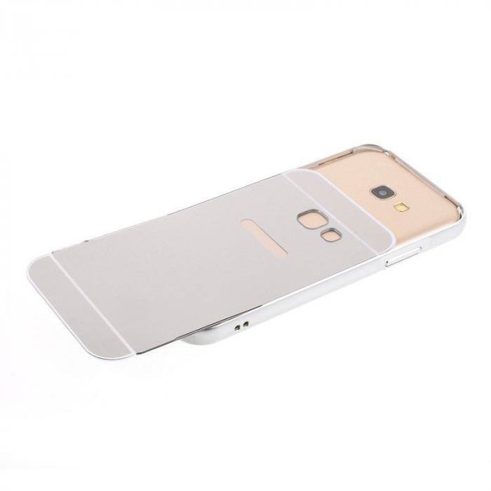 Husa  Samsung Galaxy A5 2017 (A520F) Bumper Metalic - argintiu 4