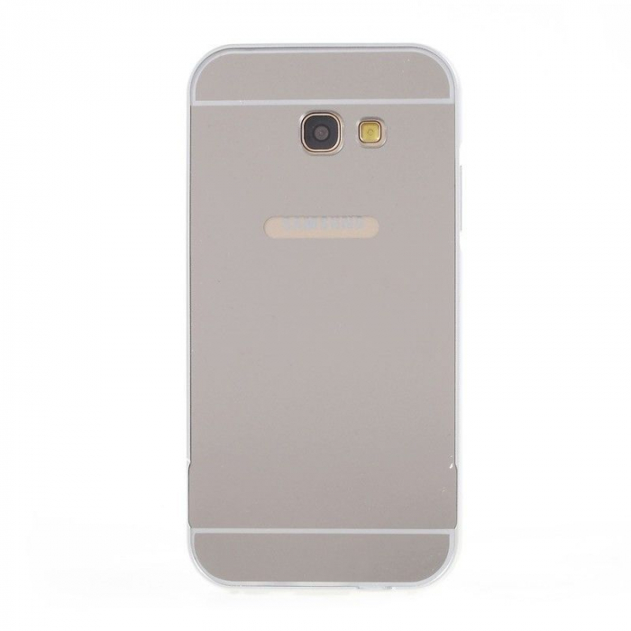 Husa  Samsung Galaxy A5 2017 (A520F) Bumper Metalic - argintiu 2